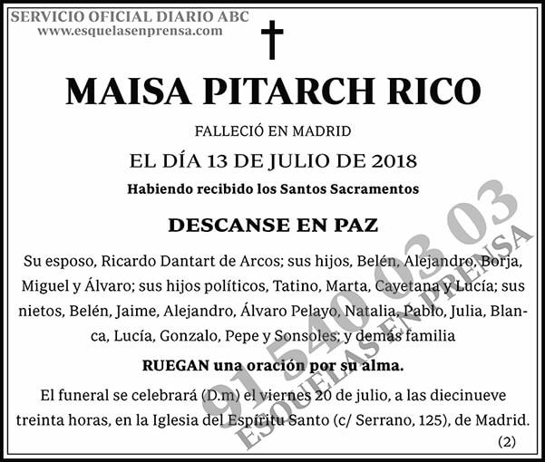 Maisa Pitarch Rico